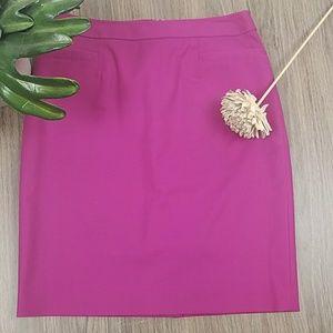 Halogen pink pencil skirt size 4